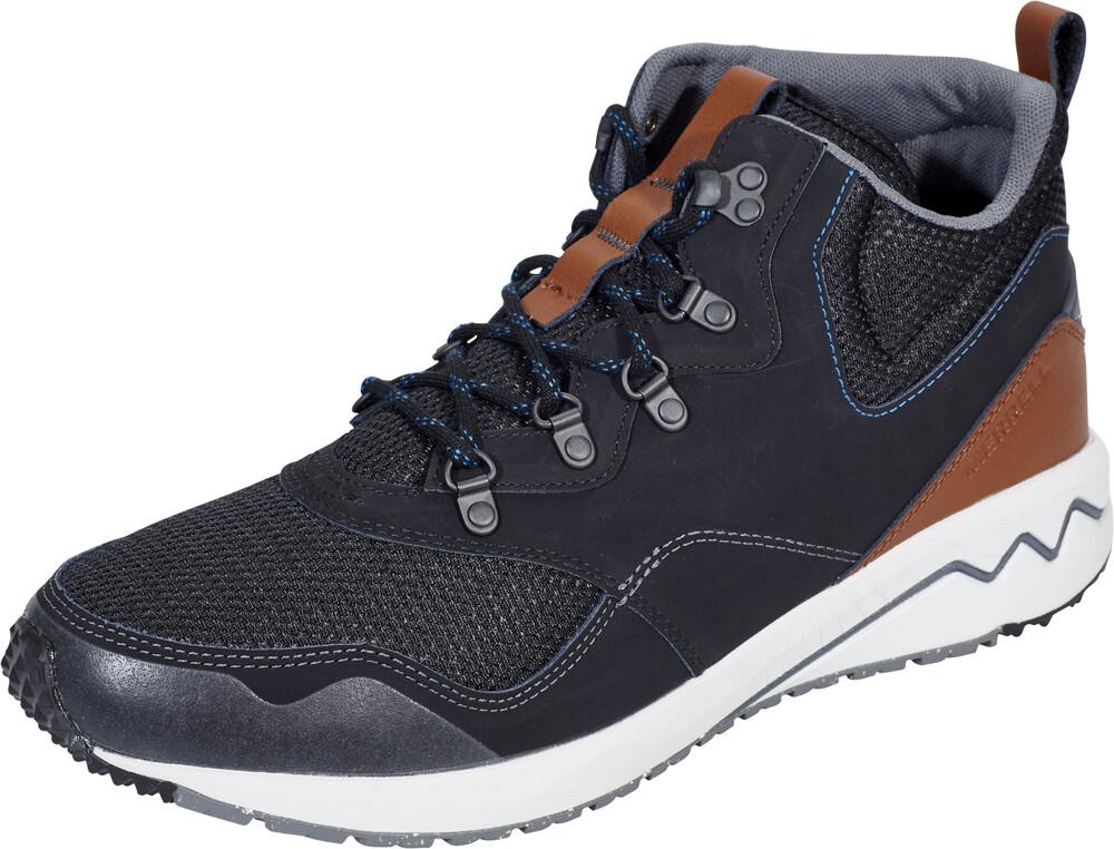 Merrell Stowe m, Sneaker Homme - Gris - Carbone/Marrone, 42 EU EU